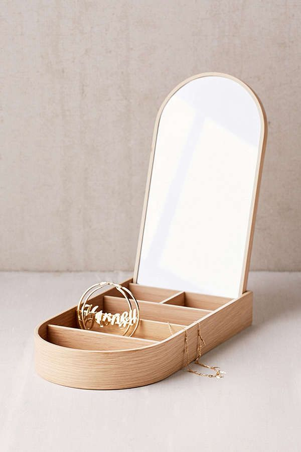 Update your jewelry box to one with a clean, modern aesthetic. Shop Our Pick: MENUWooden Jewelry Box ($140)
