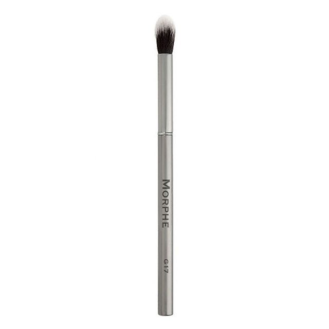mark makeup review: Morphe Gunmetal Round Eye Shadow Blender Brush