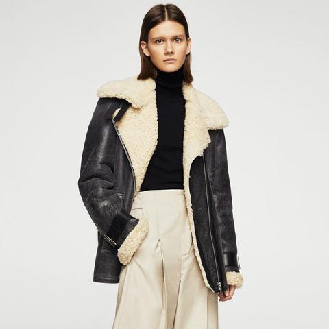 Sheepskin Aviator Jacket