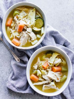 Today's the Day for This Detox Crockpot Turkey Noodle Soup