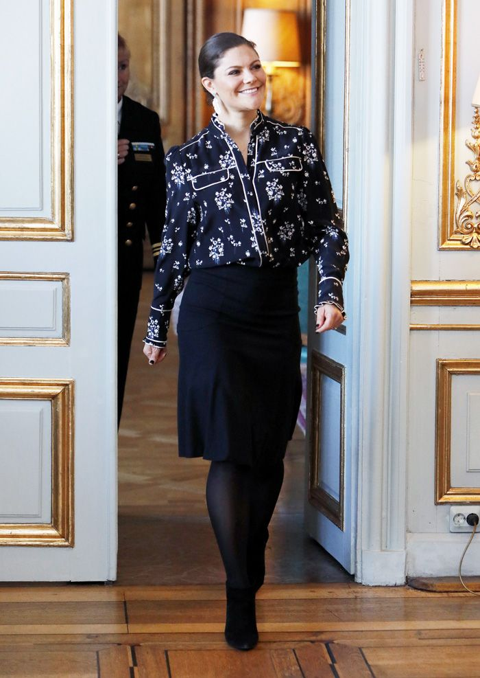 Princess Victoria Wore the H&M Piece That Sold Out in Hours