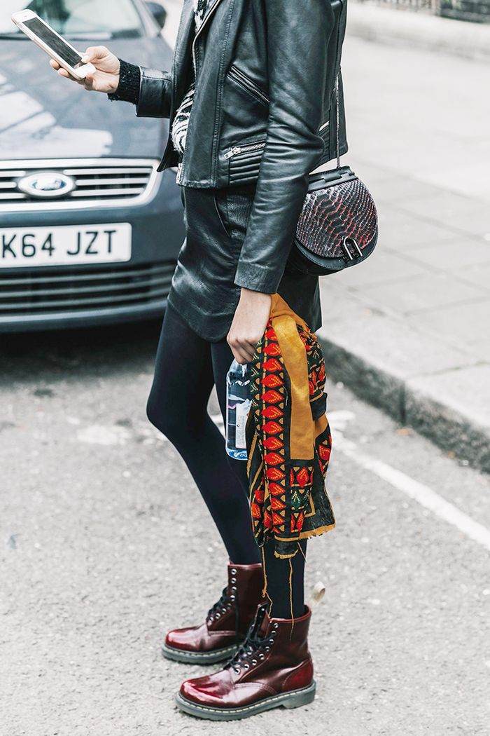 11 Outfits With Combat Boots You'll Want to Try | Who What Wear