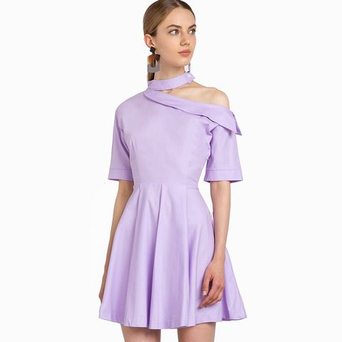 Kiko Light Purple Choker Dress