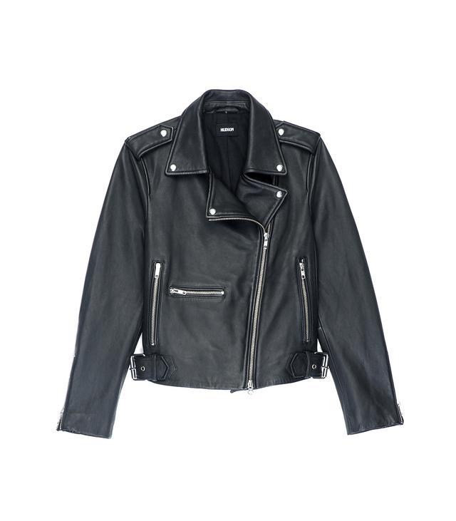 Hudson Black Leather Jacket