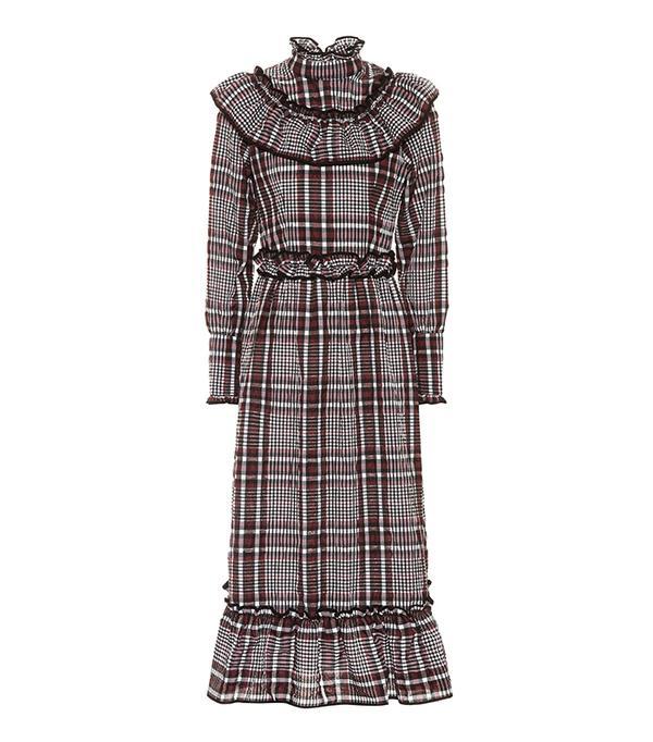 Charron cotton-blend dress