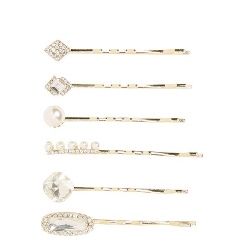 6-Pack Embellished Bobby Pins