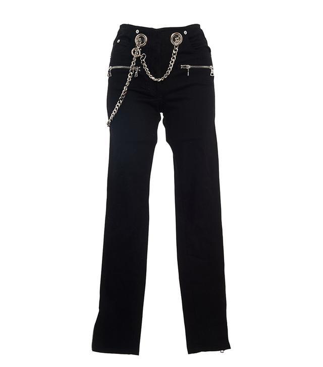 Miaou Roxi Straight Leg Pants With Belt