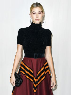 Hailey Baldwin's Stylist Says This Is the Key to Holiday Party Dressing