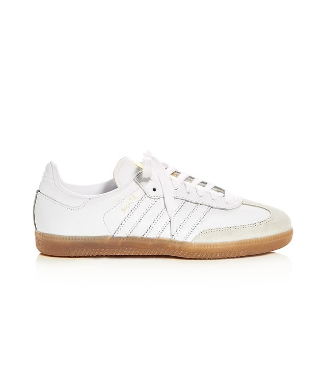 Women's Samba Leather Lace Up Sneakers
