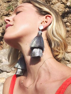 How to Style Tassel Earrings, According to an Expert