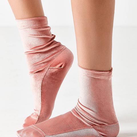 Velvet Ankle Sock