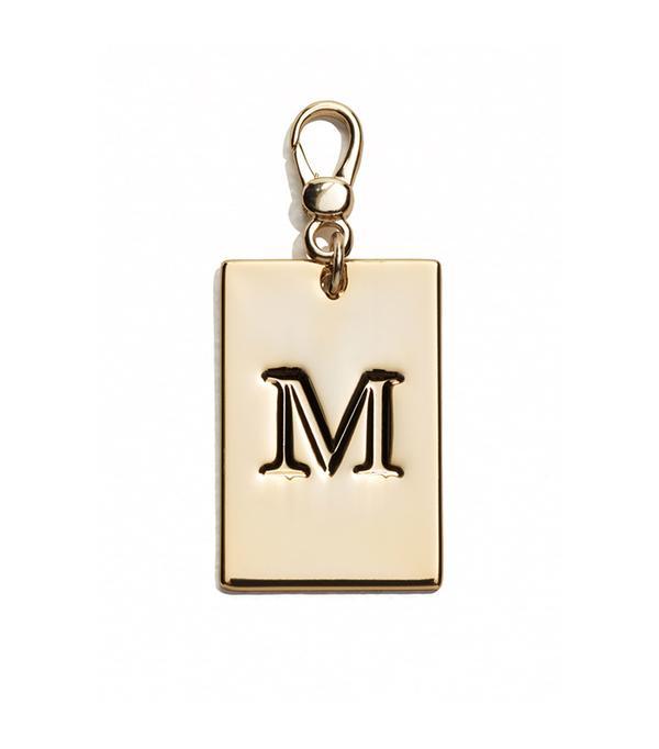 Monogram Keyring