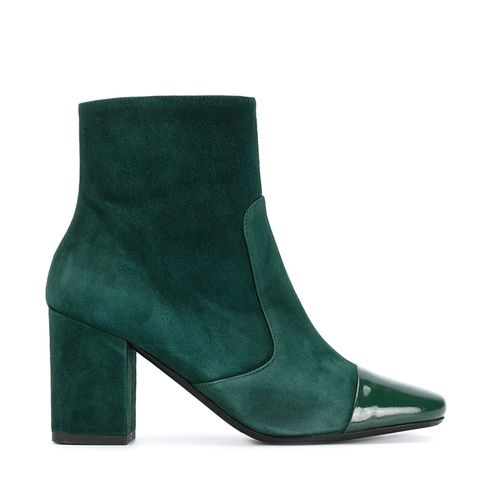 Patent Toe Boots