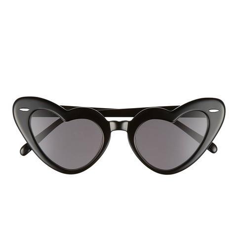 J'Adore 46Mm Heart Sunglasses