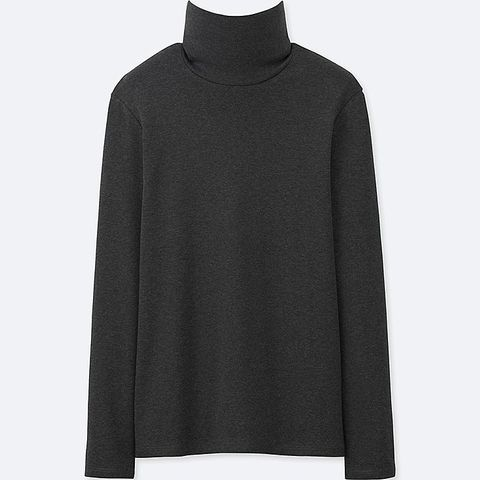 Supima Cotton Long-Sleeve Turtleneck