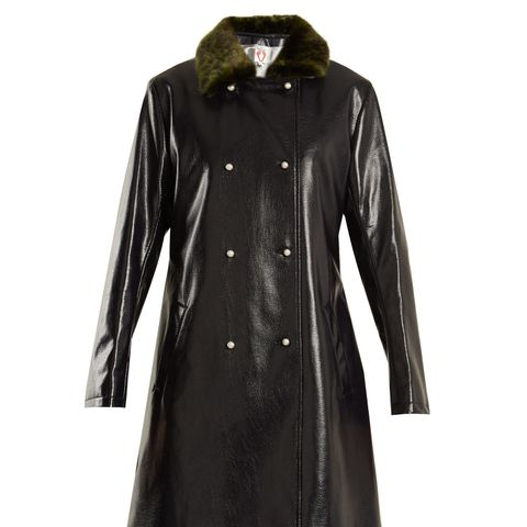 Sinclair Faux-Leather Coat