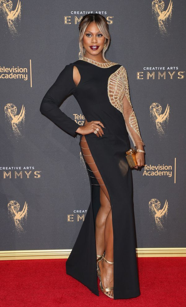Who: Laverne Cox What: The 2017 Creative Arts Emmys Wear: Mikael D