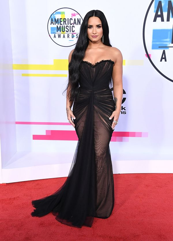 Who: Demi Lovato What: The 2017 American Music Awards Wear: Ester Abner