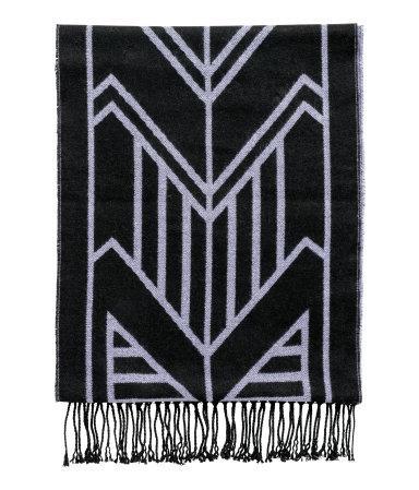 Jacquard-weave Scarf