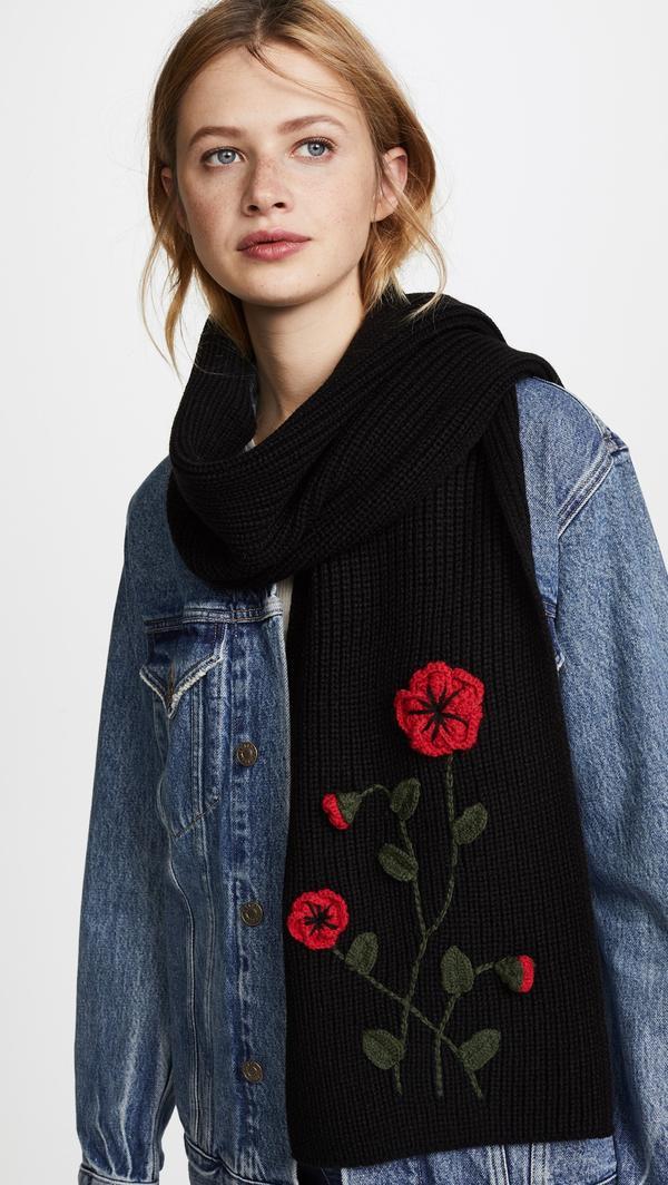 Crochet Poppy Muffler