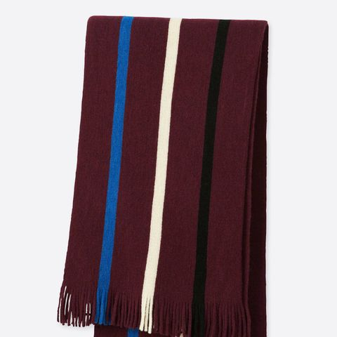 Striped School Scarf