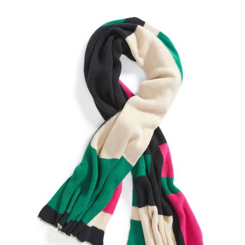Bold Colorblock Oblong Scarf