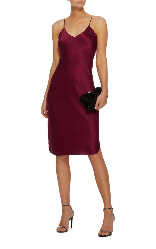 Nili Lotan Silk-Satin Slip Dress