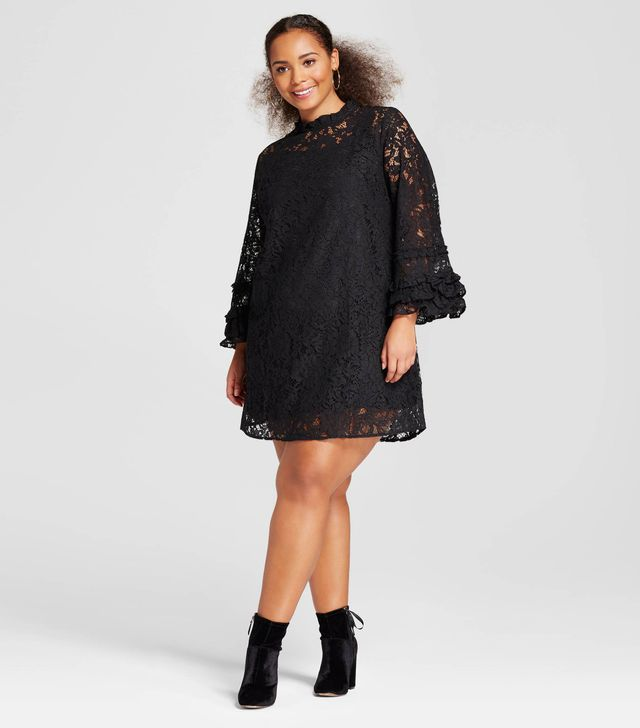 Who What Wear Lace Shift Dress