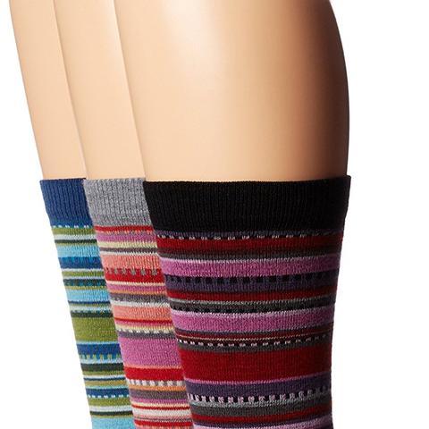 Miley Merino Wool Casual Crew Boot Sock