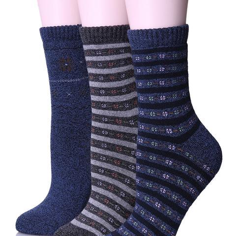Warm Stripes Winter Cotton Socks
