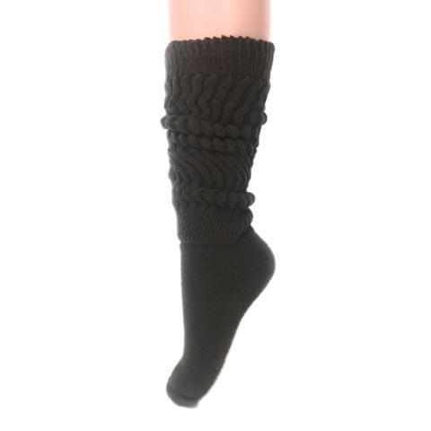 Extra Long Heavy Slouch Cotton Socks
