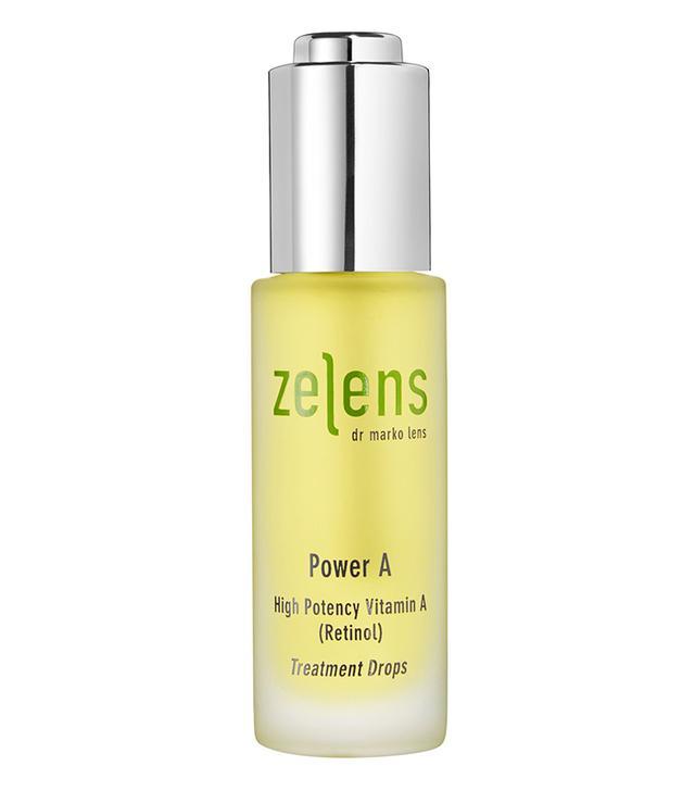 Retinol for sensitive skin: Zelens Power A Treatment Drops