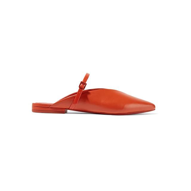 Mercedes Castillo Talis Leather Point-Toe Sandals