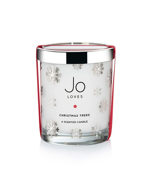 Beauty products that smell like Christmas: Jo Loves Christmas Trees Candle