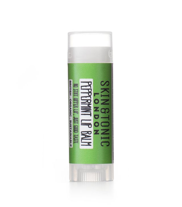 Beauty products that smell like christmas: Skin and Tonic Peppermint Lip Balm