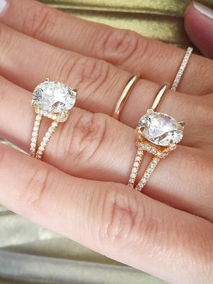 These Will Be the Two Most Popular Engagement Ring Trends of 2018