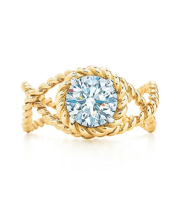 Tiffany & Co. Schlumberger Rope Ring