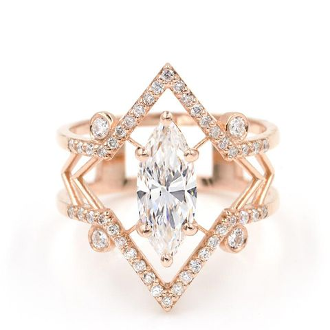 The Arrow Marquise Ring