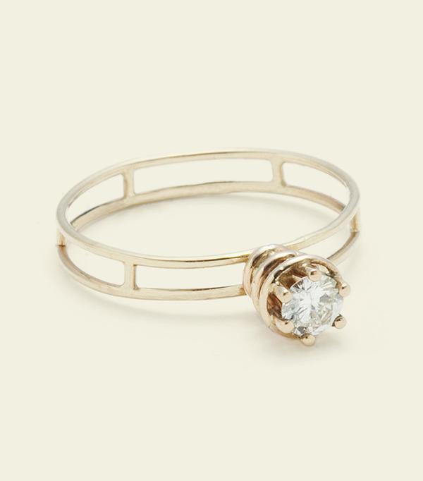 Erica Weiner Atomic Ring