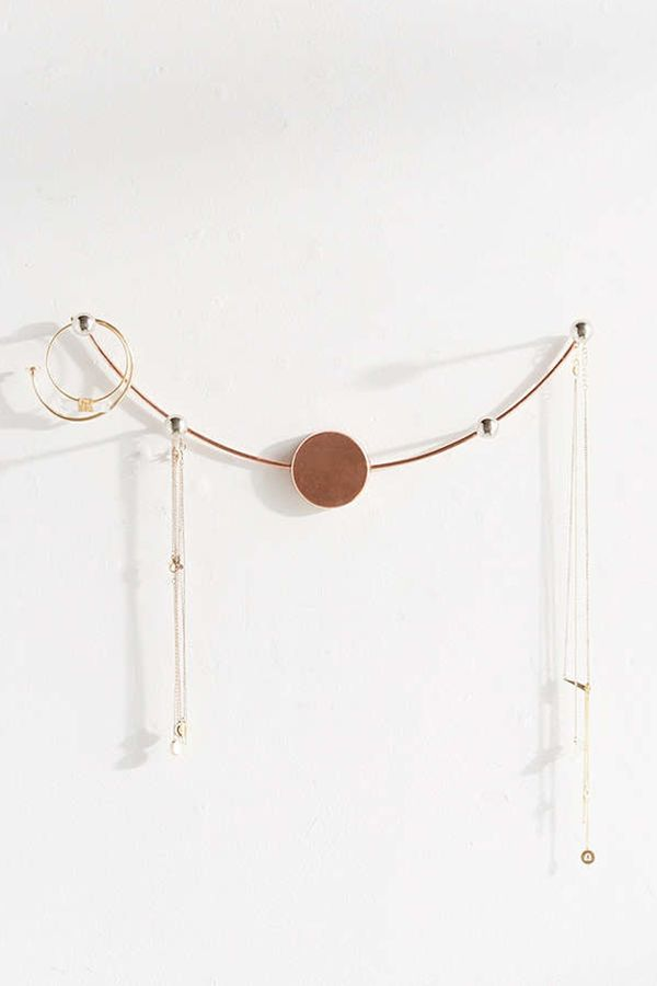 For the décor minimalist. Shop this necklace holder: Ami Jewelry Multi-Hook ($14).