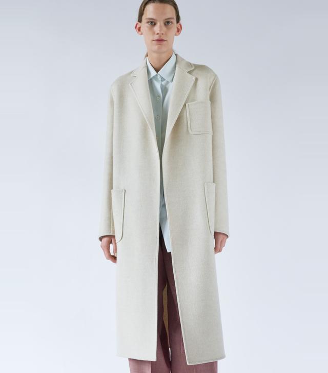 Céline Long Belted Coat