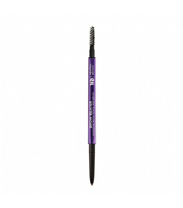 'Brow Beater' Microfine Brow Pencil & Brush - Dark Brown