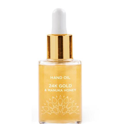 24k Gold & Manuka Honey Hand Oil