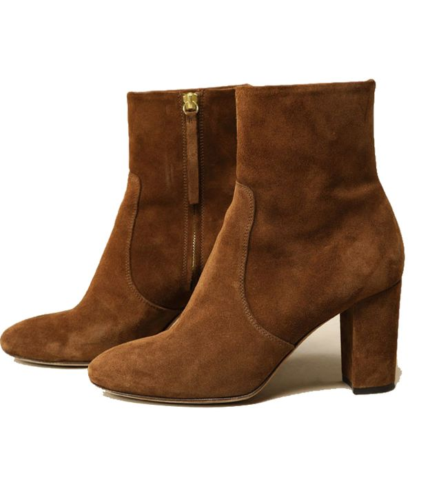 Brown ankle boots: Rouje