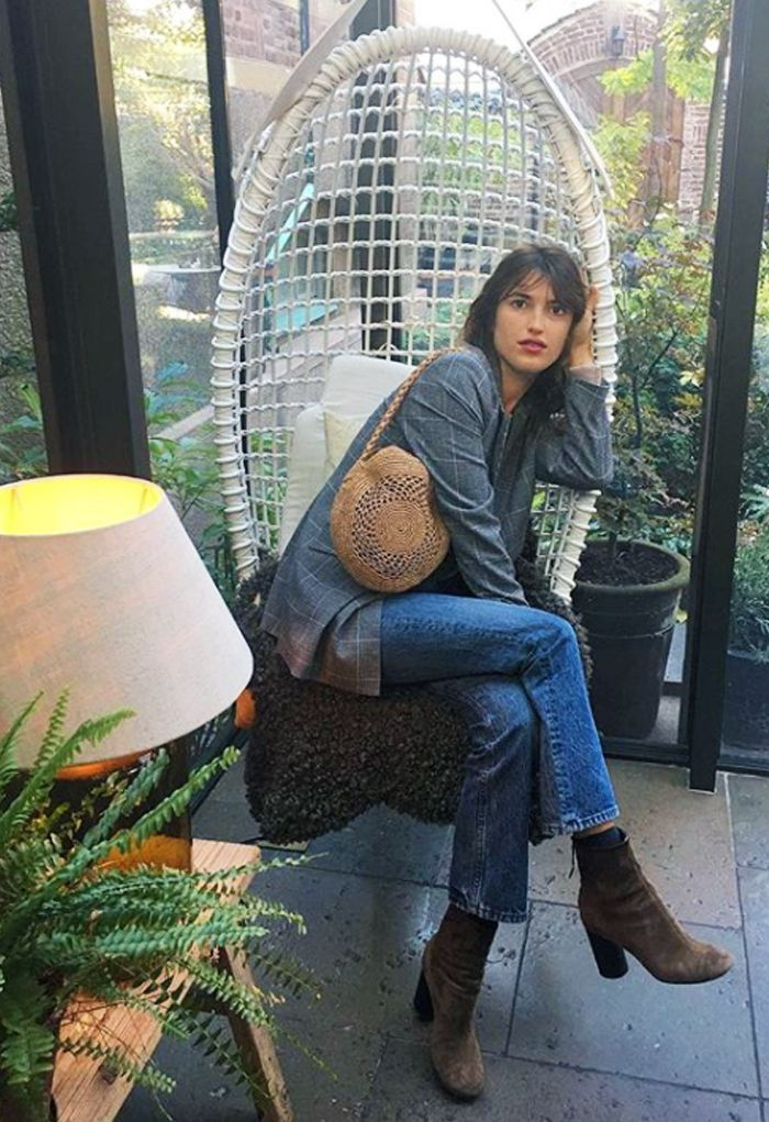 Best brown ankle boots: Jeanne Damas