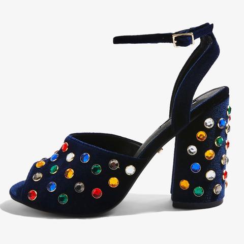 Rouble Multi Gem Sandals