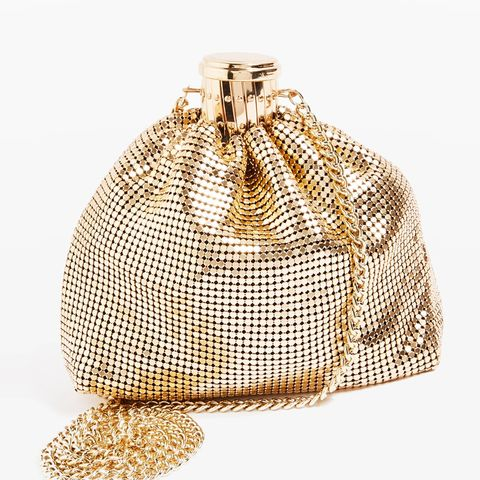 Chainmail Pouch Cross Body Bag