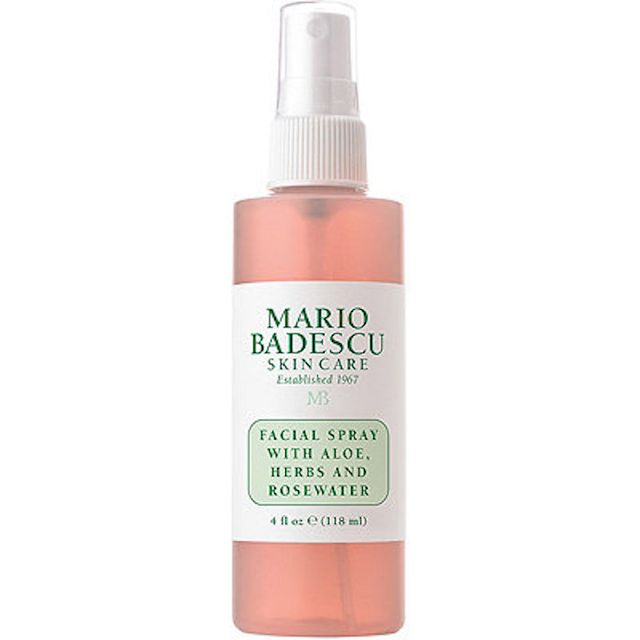 Facial Spray with Aloe, Herbs & Rosewater 8 oz.