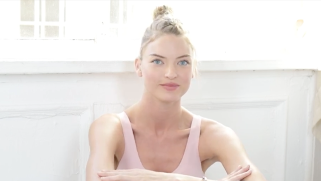 Victoria's Secret Angel Martha Hunt Shares Her 5 Essential Workout Tips