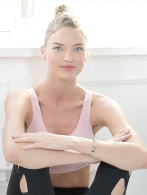 Victoria's Secret Angel Martha Hunt Shares Her 5 Essential Workout Tips